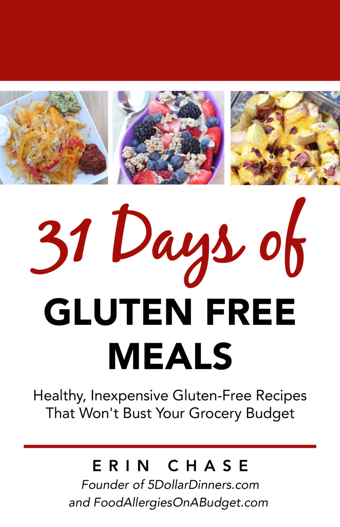 31 Days of Gluten Free Meals E-Cookbook - Only $1.99