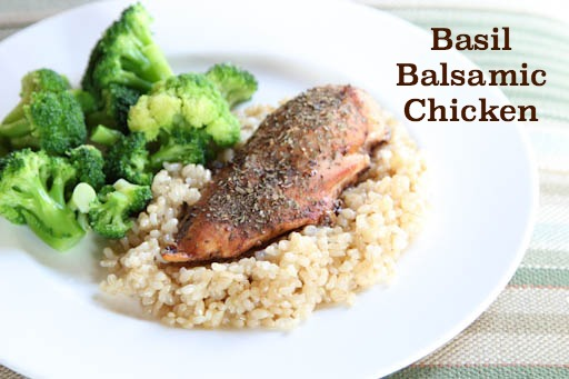 Basil Balsamic Chicken Recipe