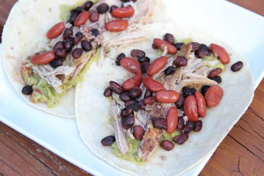 Cumin Pork & Beans Tacos | 5DollarDinners.com