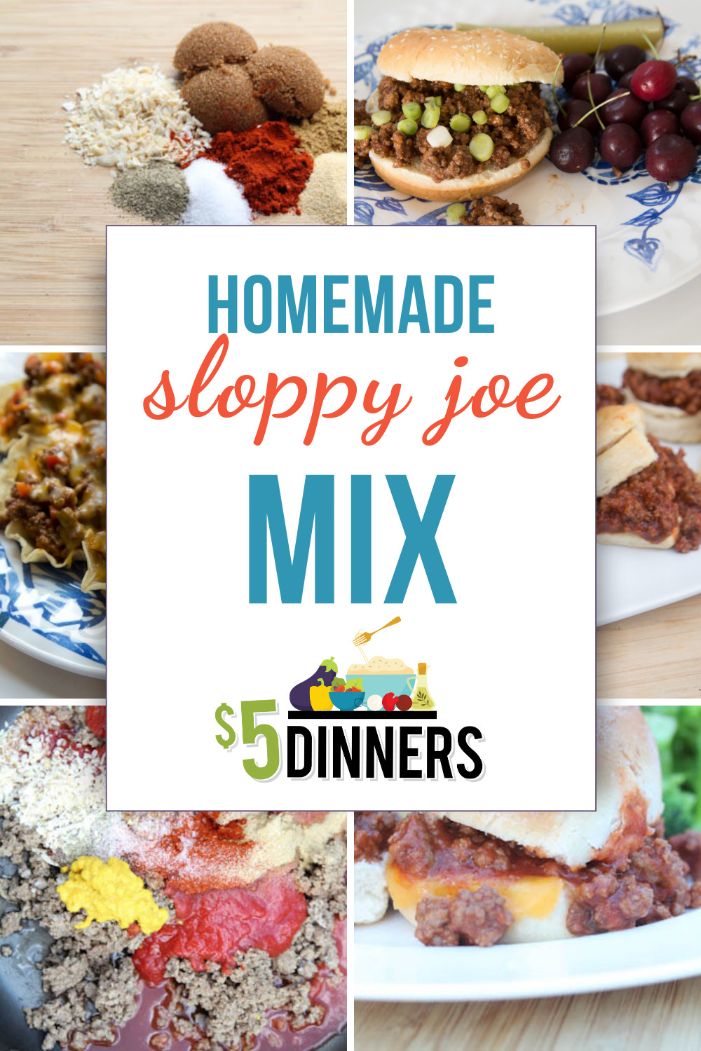 Homemade Sloppy Joe Mix