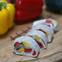 Turkey and Pepper Pinwheels