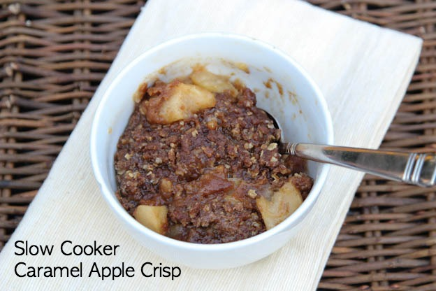 Slow Cooker Apple Crisp | 5DollarDinners.com
