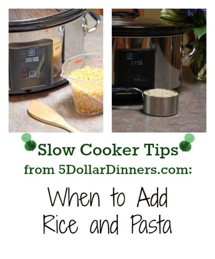 best tips for when to add rice  pasta to slow cooker  5
