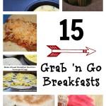 15 Grab n Go Breakfast Ideas | 5DollarDinners.com