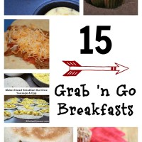 15 Grab n Go Breakfast Ideas | 5DollarDinners.com