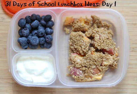 31 Days School Lunchbox Ideas - Day 1
