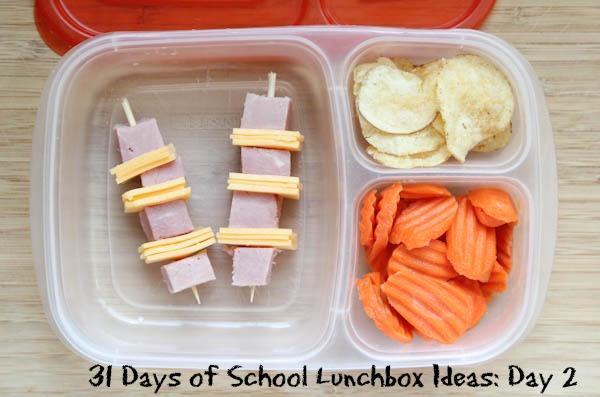 31 Days School Lunchbox Ideas - Day 2