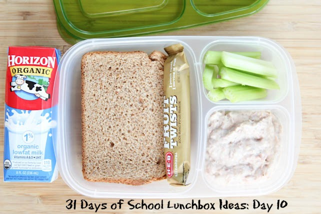 31 Days of School Lunchbox Ideas Day 10 | 5DollarDinners.com