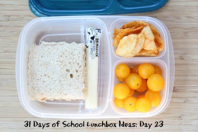 31 Days of School Lunchbox Ideas - Day 23 | 5DollarDinners.com