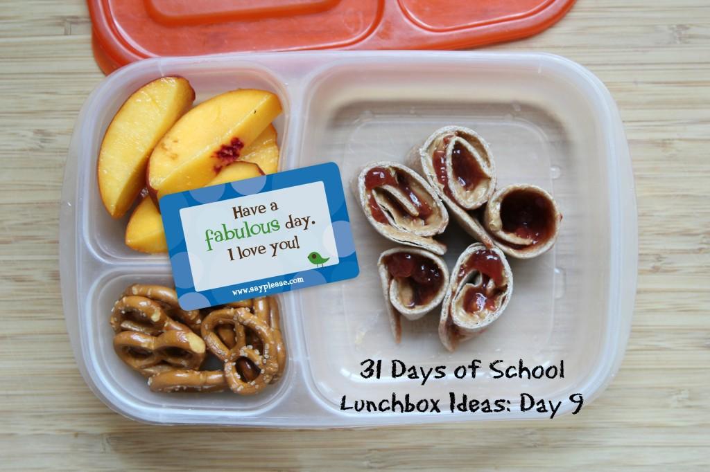 31 Days of School Lunchbox Ideas: Day 6 | 5DollarDinners.com