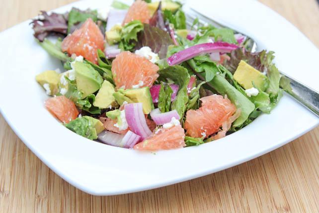 Avocado Grapefruit Salad | 5DollarDinners.com