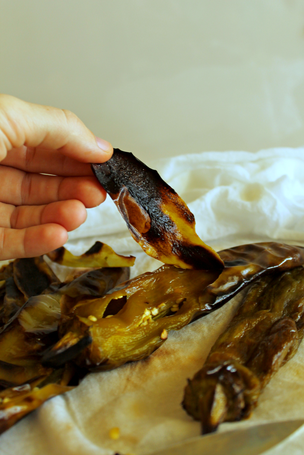 How to Roast Hatch Chiles Step 6