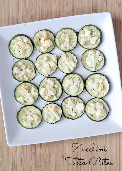 Zucchini Feta Bites