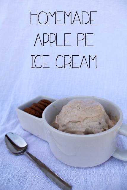 Apple Pie Ice Cream Recipe