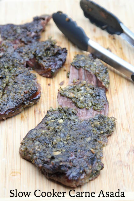 Slow Cooker Carne Asada Recipe | 5DollarDinners.com