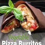 Vegetable Pizza Burritos | 5DollarDinners.com