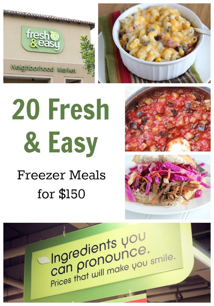 20 Fresh Easy Freezer Meals