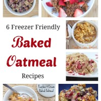 6 Freezer Friendly Baked Oatmeal Recipes | 5DollarDinners.com