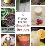 8 Freezer Friendly Smoothie Recipes | 5DollarDinners.com