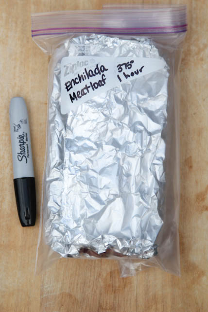 Freezer Friendly Enchilada Meatloaf Recipe