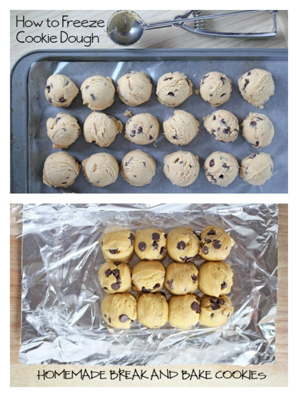 Freezing Cookie Dough | 5DollarDinners.com