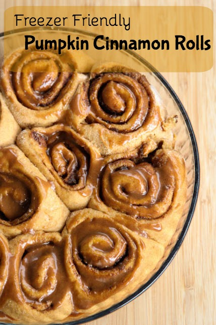 Pumpkin Cinnamon Rolls Recipe on 5DollarDinners.com