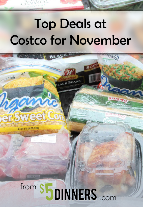Costco Top Deals for November   5DollarDinners.com