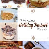 13 Amazing Holiday Dessert Recipes | 5DollarDinners.com