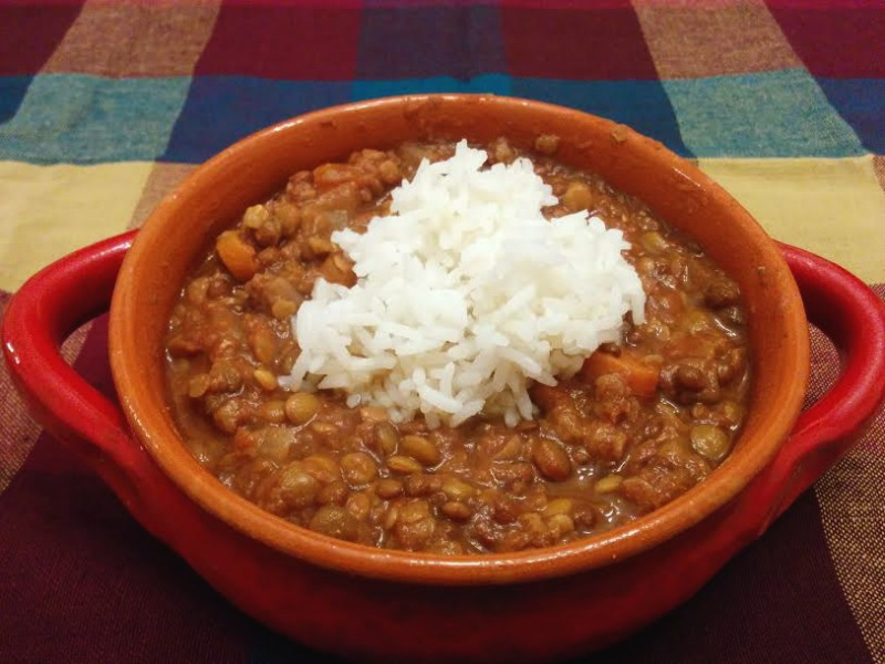 Curried Lentils recipe