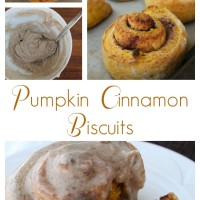 Pumpkin Cinnamon Biscuits with Browned Butter Frosting | 5DollarDinners.com