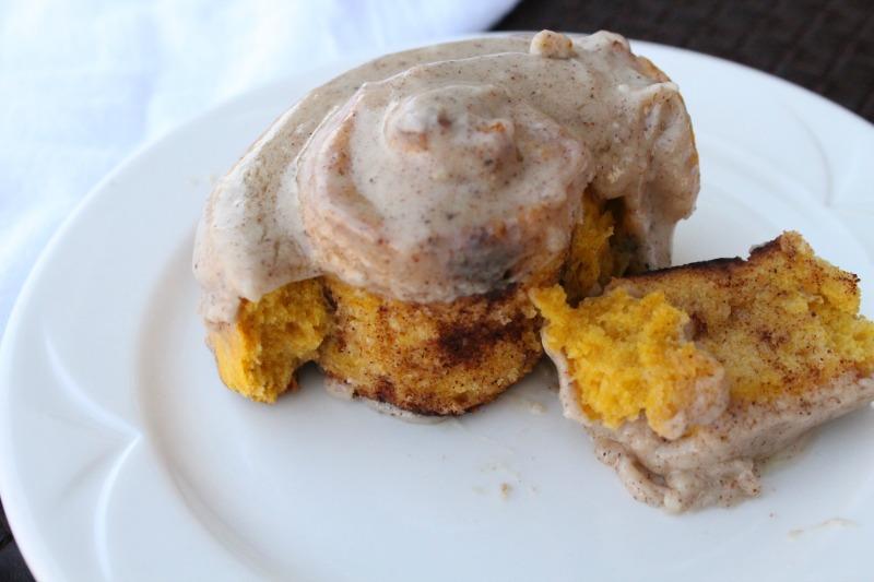 Pumpkin Cinnamon Biscuits