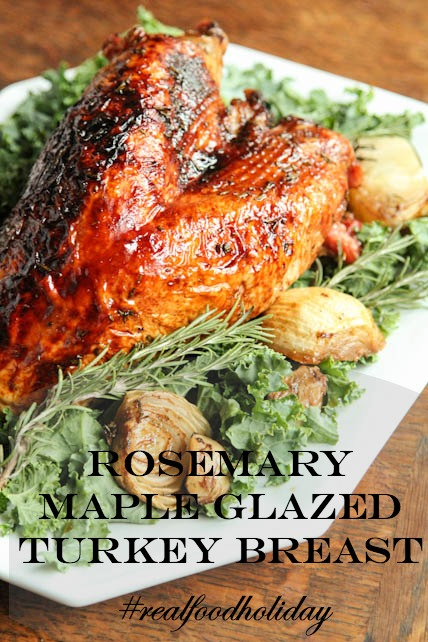 Rosemary Maple Glazed Turkey Breast Recipe on 5DollarDinners.com