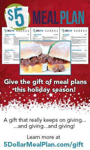 Give the Gift of Meal Planning!