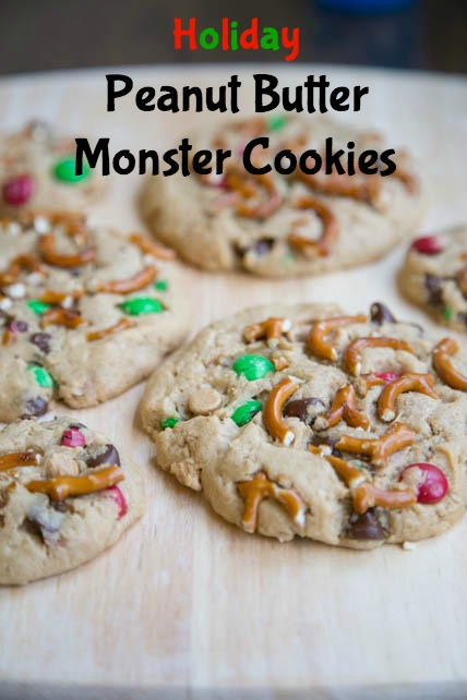Peanut Butter Monster Cookies 5DollarDinners.com