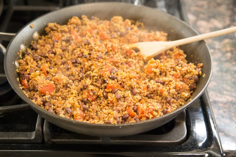 Beef Quinoa Skillet Recipe-9