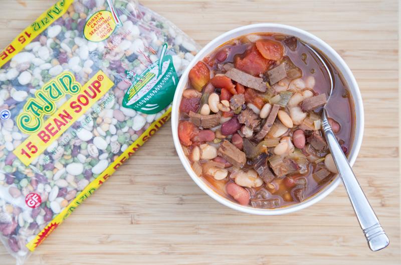 Brisket & 15 Bean Soup Recipe