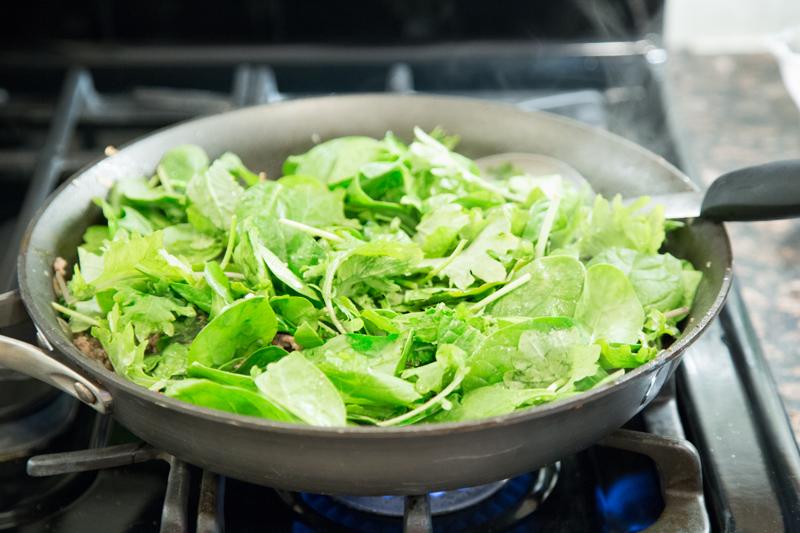 Spinach Lasagna Skillet_-3