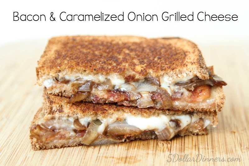 Bacon & Caramelized Onion Grilled Cheese Recipe