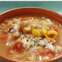 Gluten Free Vegetable and Bean Gumbo ~ freezer friendly! | 5DollarDinners.com