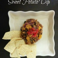 Black Bean and Sweet Potato Dip from 5DollarDinners.com