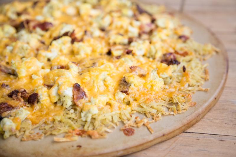 Hashbrown Breakfast Pizza _-6