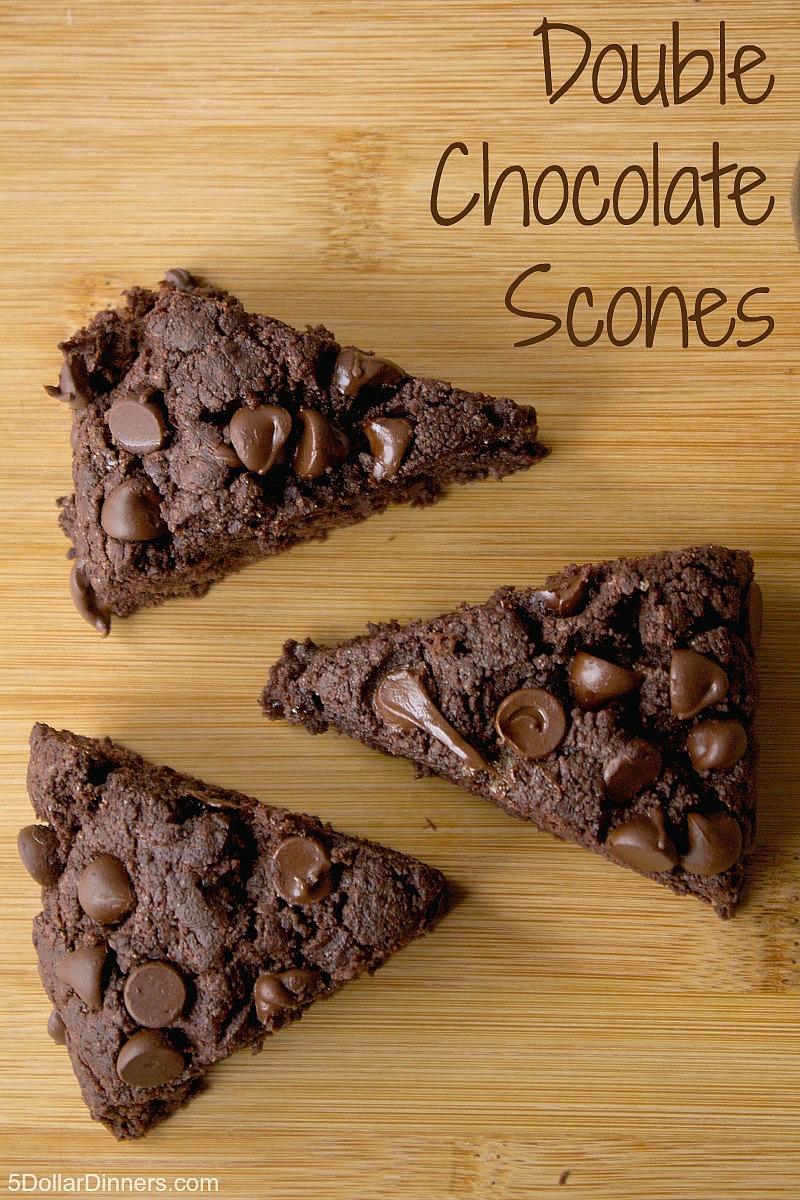 Double Chocolate Scones