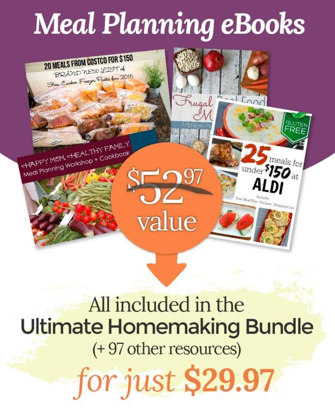 Meal Planning in Bundle
