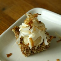No Bake Coconut Lemon Tarts from 5DollarDinners.com