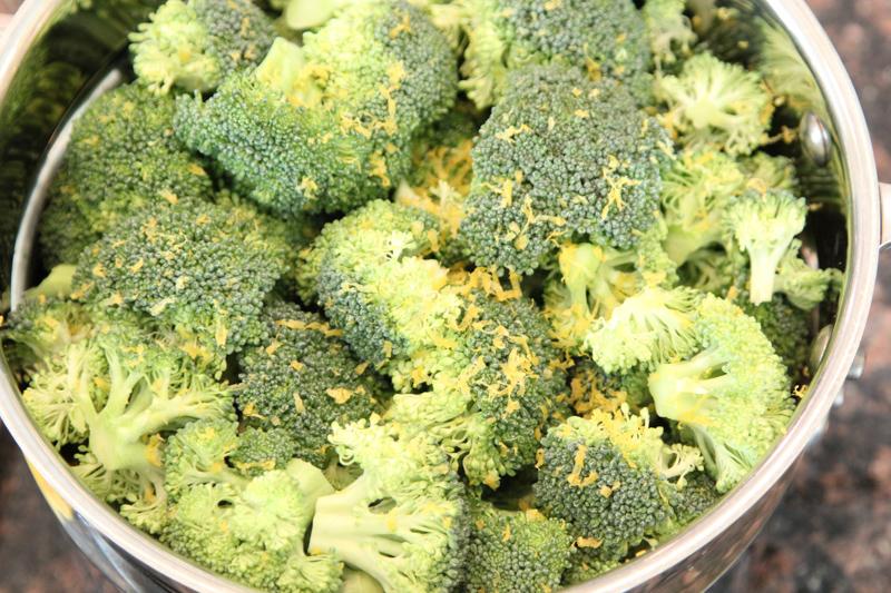 Steamed Lemon Broccoli Recipe
