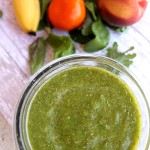 Tropical Green Smoothie from 5DollarDinners.com