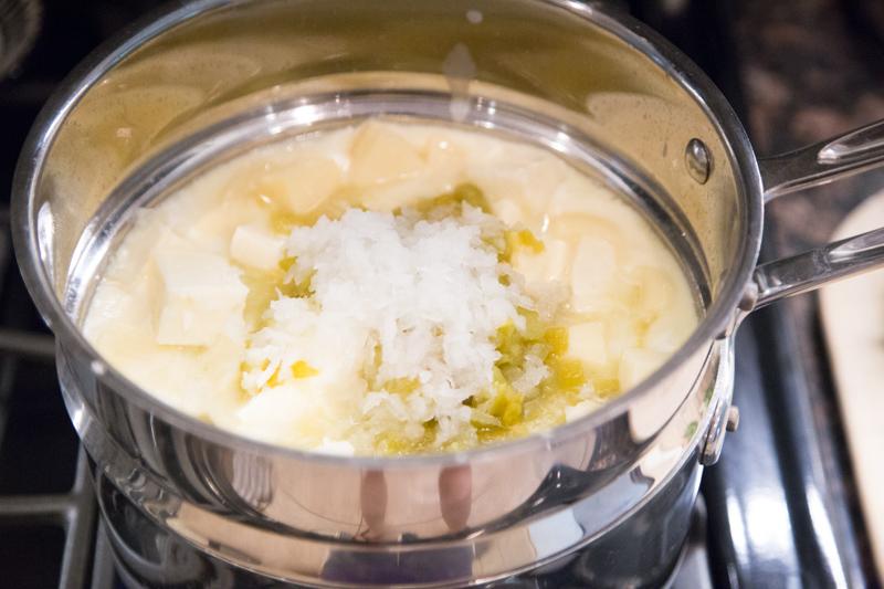 White Mexican Cheese Dip Recipe - Queso Blanco Dip-3
