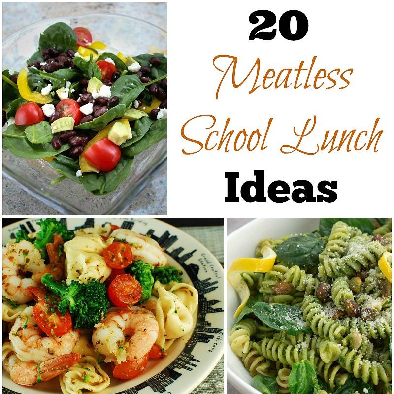 20 Meatless School Lunch Ideas   5DollarDinners.com