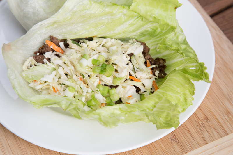 Korean Beef Lettuce Wraps Recipe