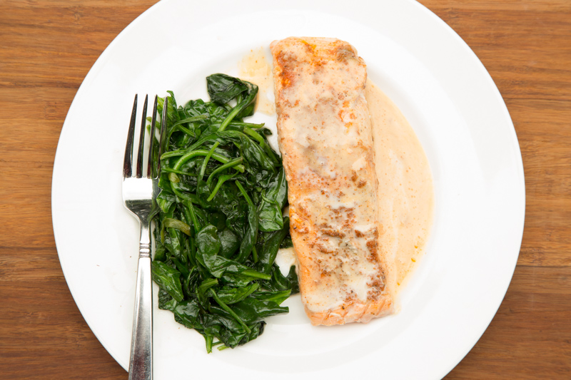 Paleo Curried Salmon Recipe
